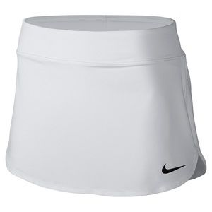 White Nike tennis skirt with shorts on the inside.